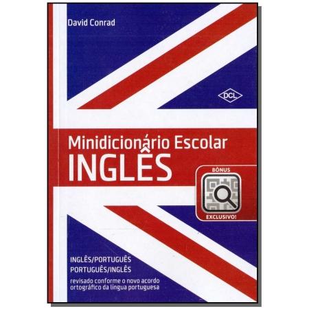 Minidicionário Escolar Inglês