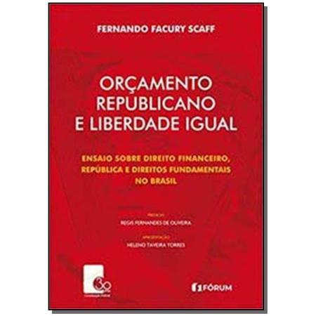 ORCAMENTO REPUBLICANO E LIBERDADE IGUAL