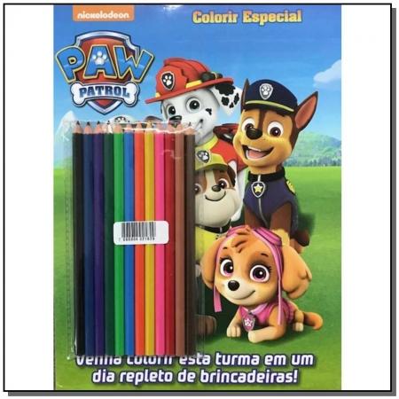 Patrulha Canina - Colorir Especial