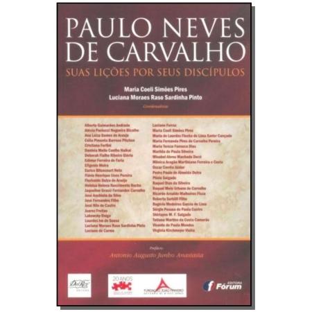 Paulo Neves De Carvalho - Licoes Por Discipulos