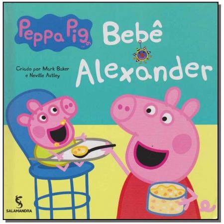 Peppa e o Bebe Alexander