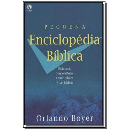 Pequena Enciclopédia Bíblica - (Brochura)