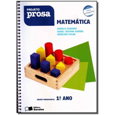 Projeto Prosa Matematica 1 Ano