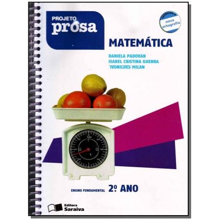 Projeto Prosa Matematica 2 Ano
