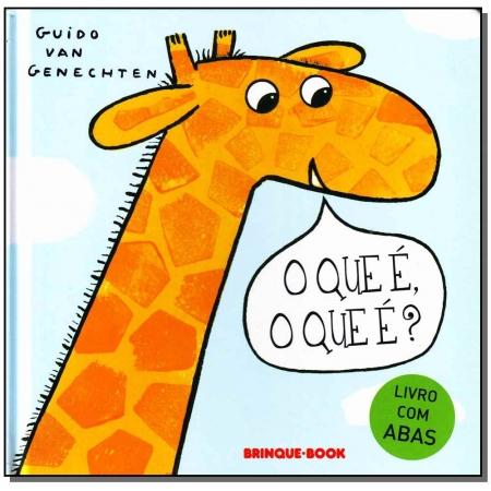Que E, o Que E, O? - Brinque-book