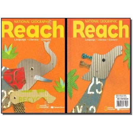 Reach - Level B - Student Anthology - 3 Volumes - 01Ed/10