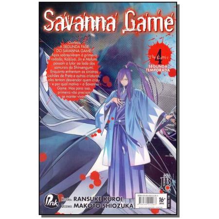 Savanna Game - 2º Temporada - Vol. 04