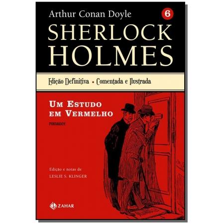 Sherlock Holmes Edição Definitiva ? Vol.6: um Estudo em Vermelho