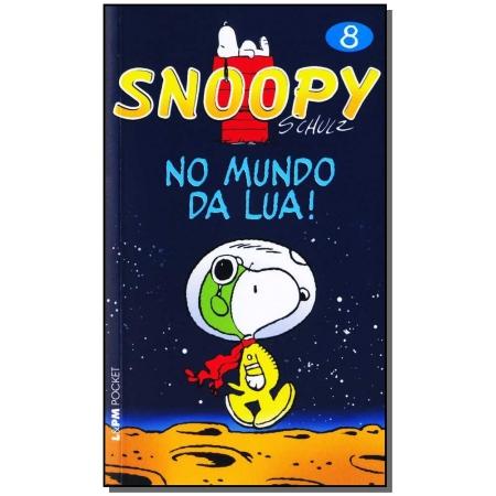 Snoopy 8 - No Mundo Da Lua - Bolso