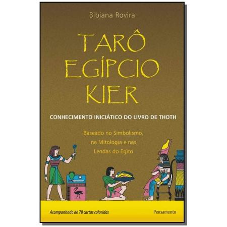 Tarô Egípcio Kier - Inclui 78 Cartas Coloridas