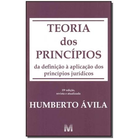 Teoria dos Princípios - 19Ed/19