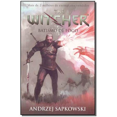 The Witcher - Batismo de Fogo - Vol. 05 - (Capa Jogo)