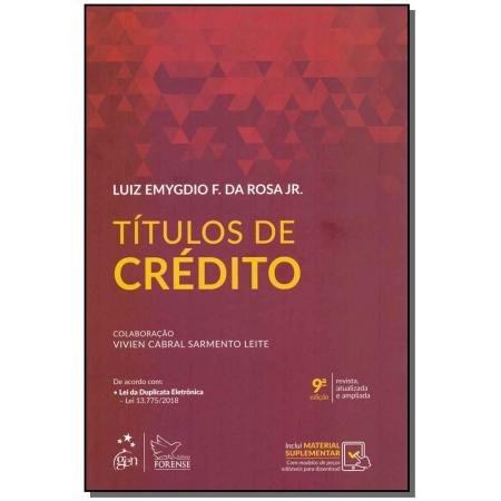Títulos de Crédito - 09Ed/19
