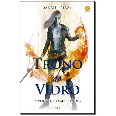 Trono de Vidro - Império de Tempestades - Vol. 05