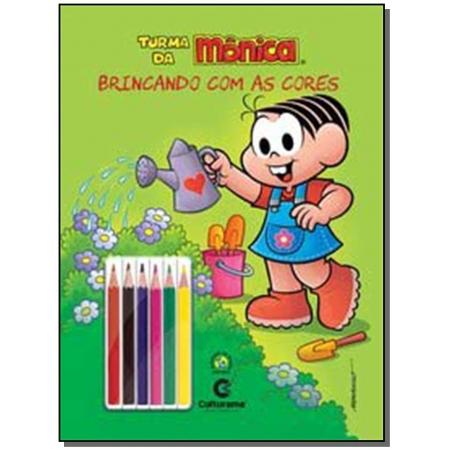 Turma da Mônica - Brincando Com as Cores - Mônica