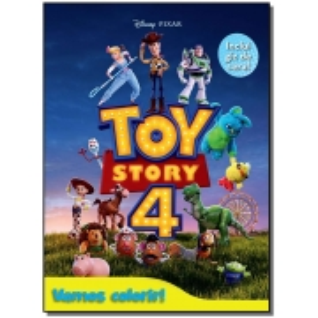Vamos Colorir - Toy Story 4