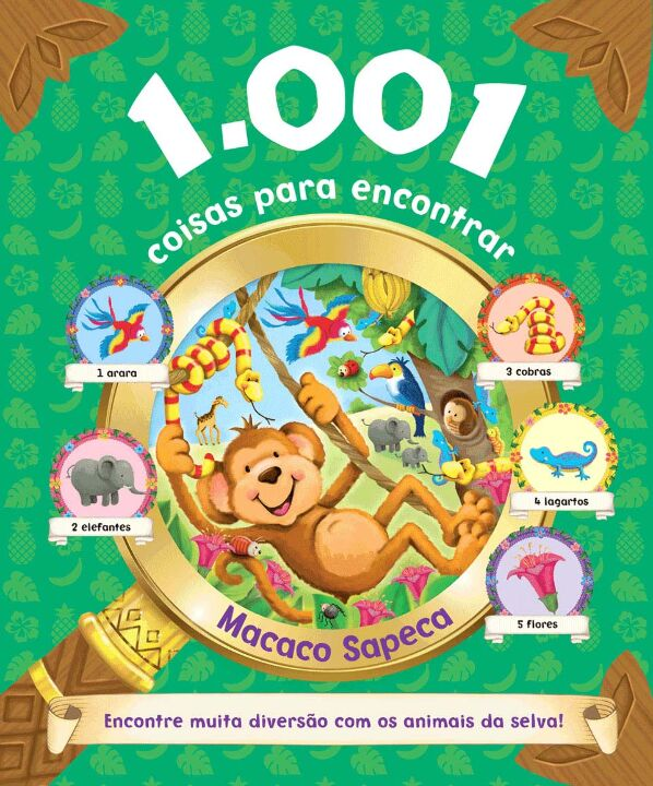 1.001 Coisas Para Encontrar - Macaco Sapeca