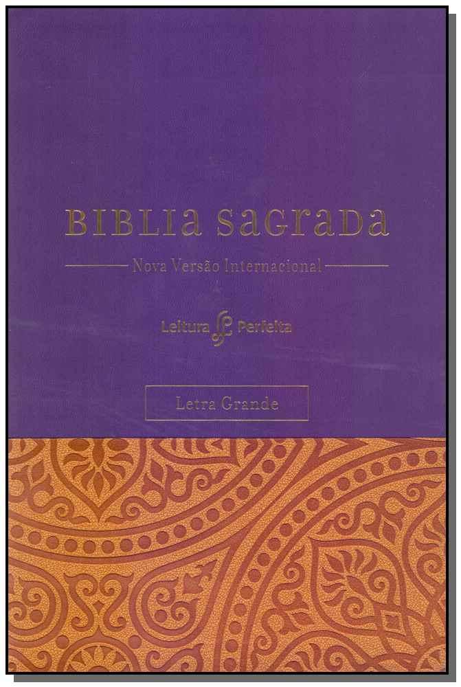 Bíblia Sagrada NVI - Capa Roxa - Letra Grande