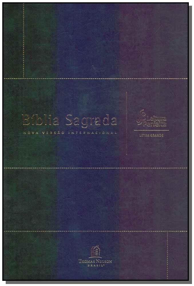 Bíblia Sagrada - NVI Capa Verde - Letra Grande