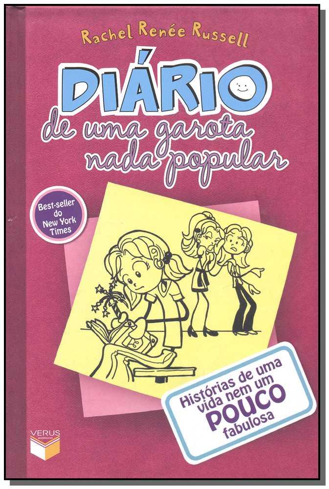 Diario De Uma Garota Nada Pop. Vol. 01 Vinho