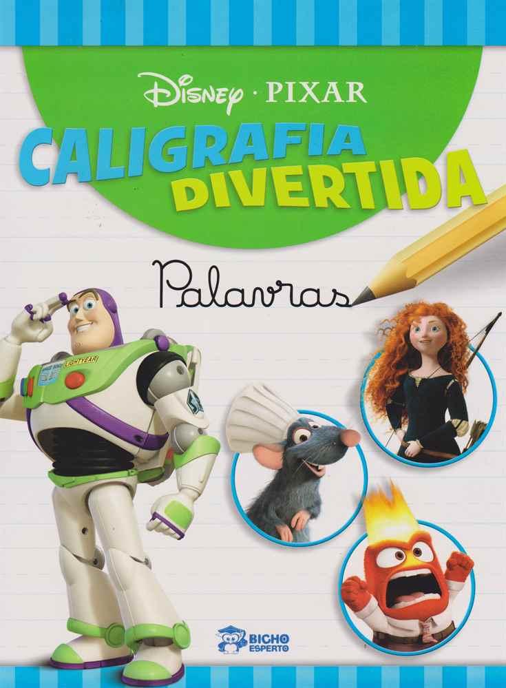 Disney - Caligrafia Divertida - Palavras