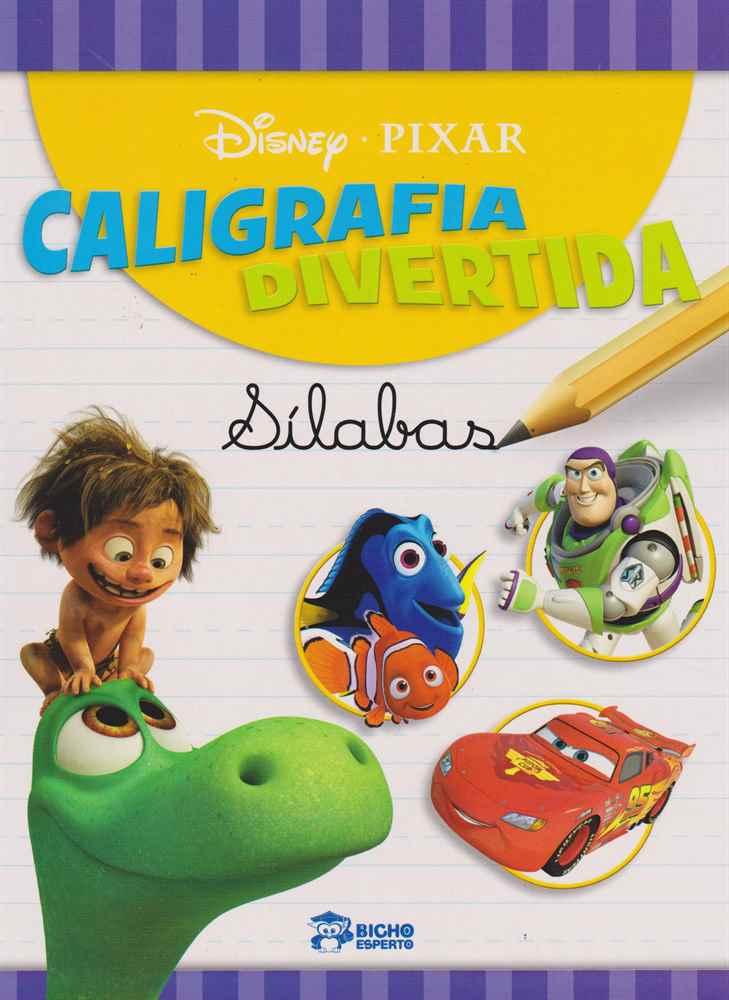 Disney - Caligrafia Divertida - Sílabas