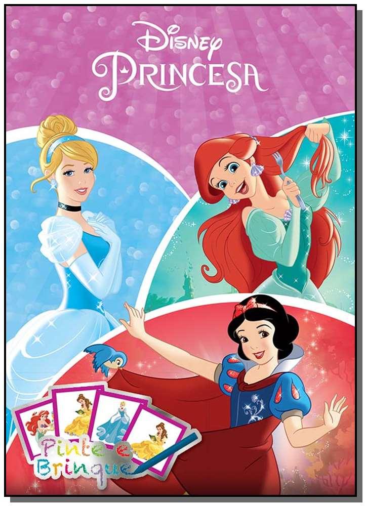 Disney - Pinte e Brinque - Princesas