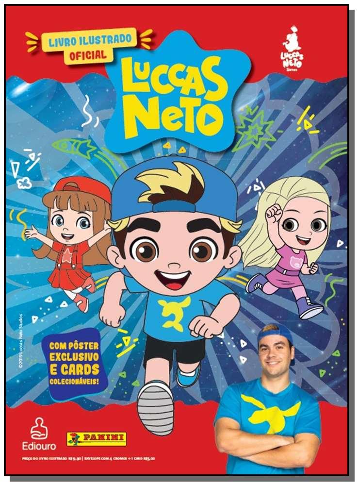 Luccas Neto Album Brochura Com 10 Envelopes