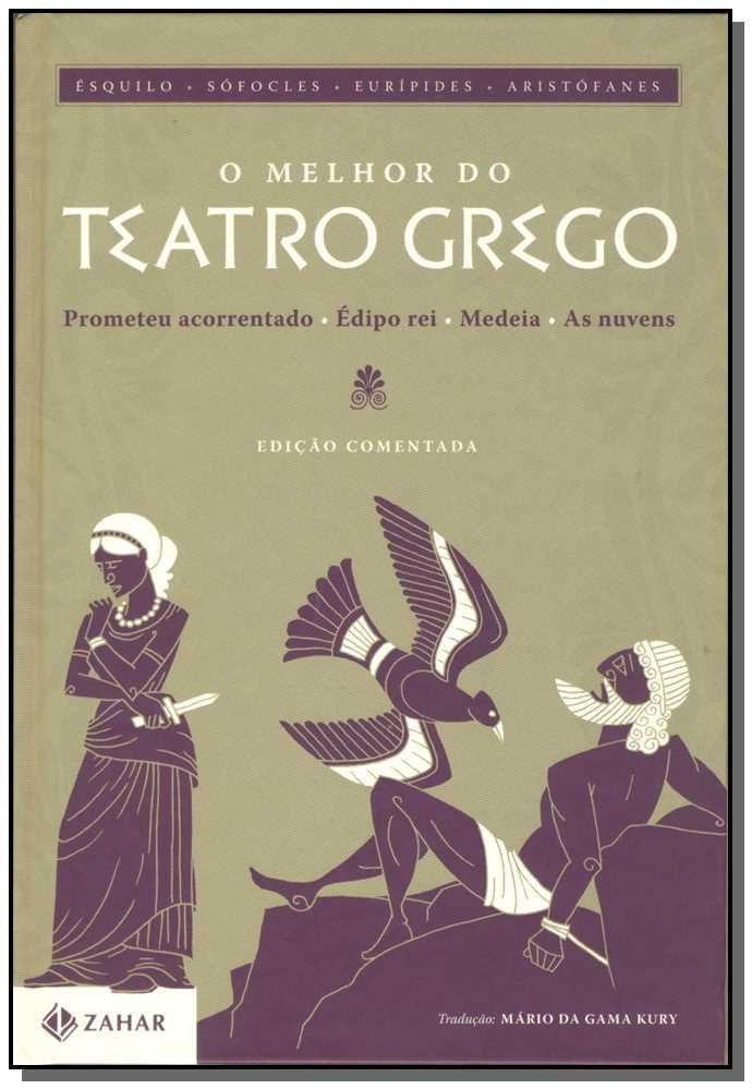 Melhor do Teatro Grego, o - Ed Comentada