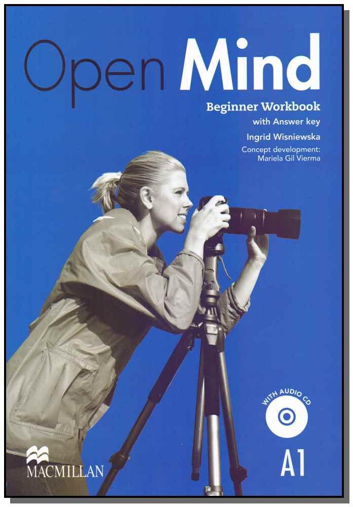 Open Mind - Beginner Work Book - 01Ed/14
