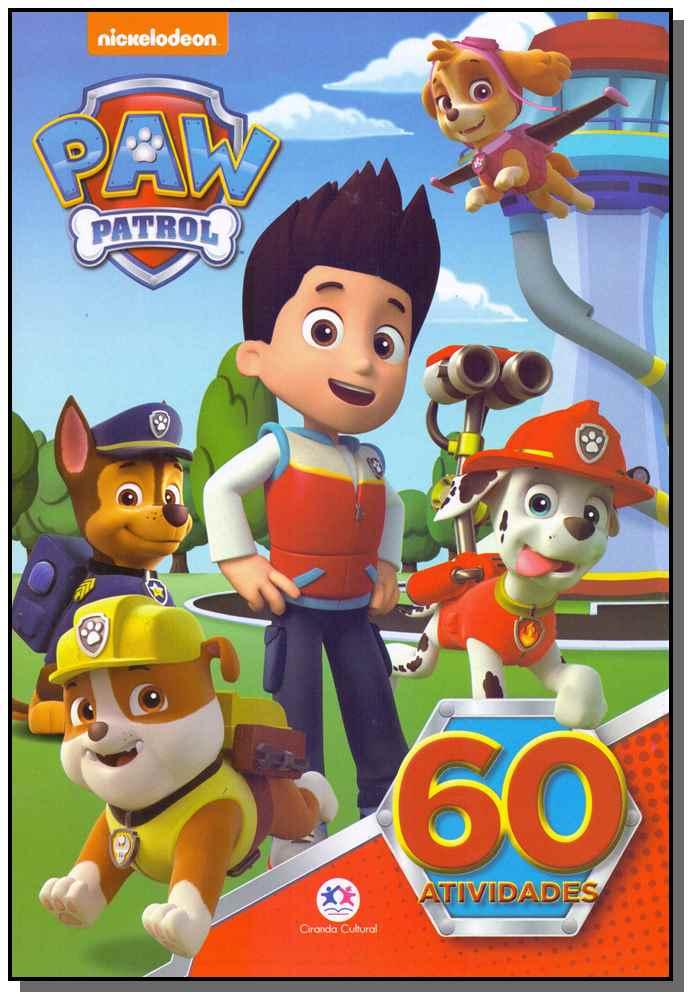 Paw Patrol - 60 Atividades