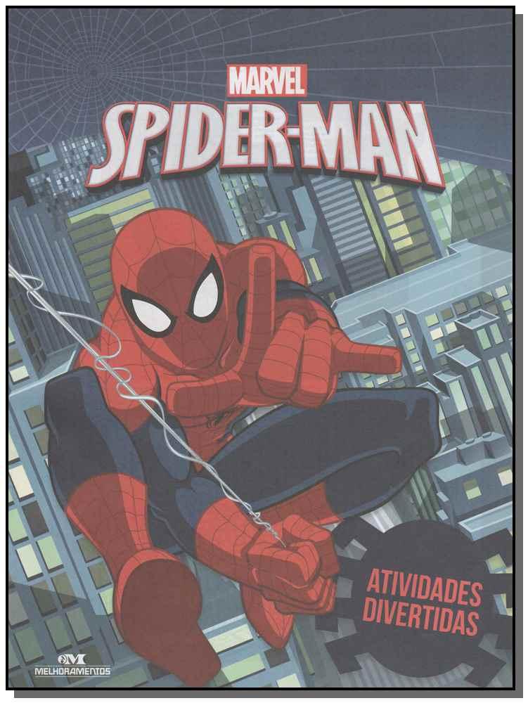 Spider-man - Atividades Divertidas