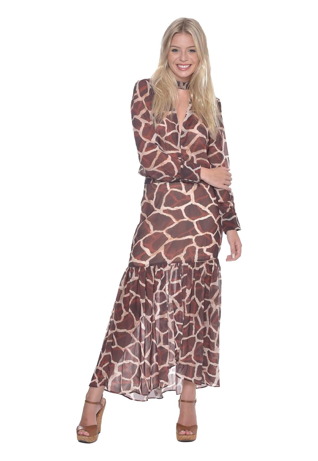Blusa Girafe