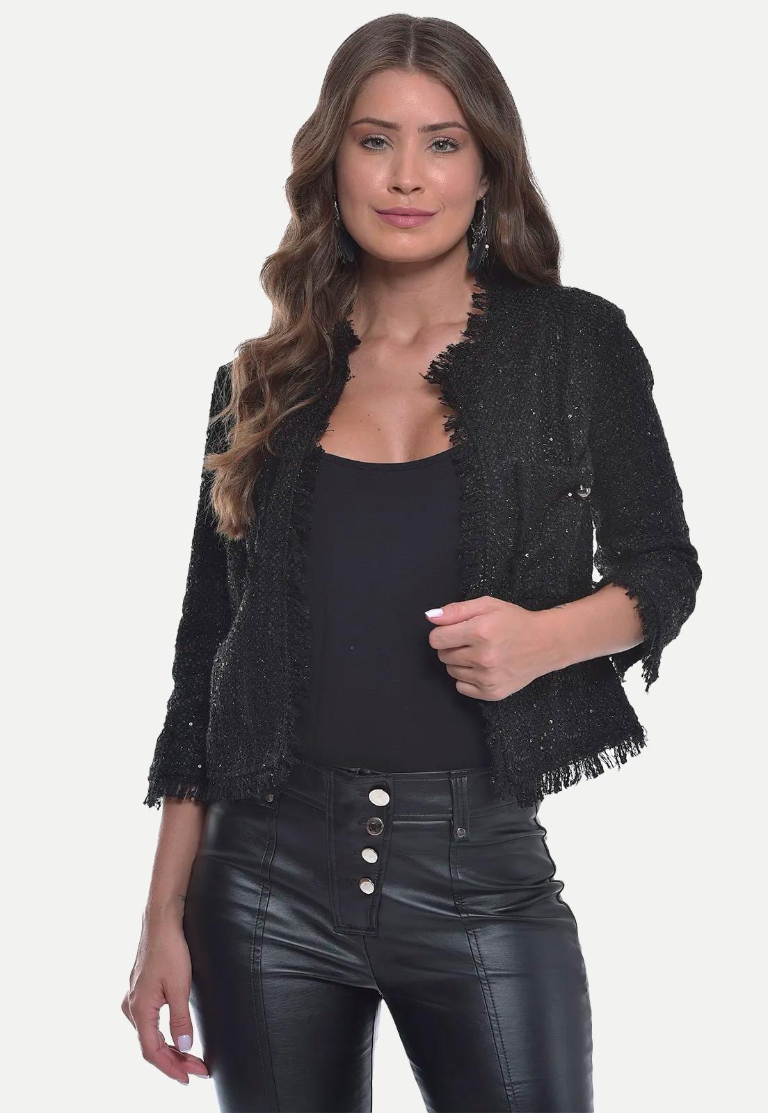 Casaquinho Tweed