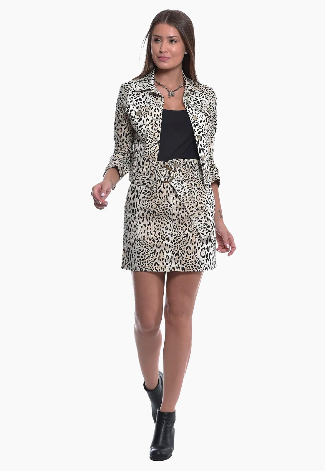 Jaqueta Leopardo