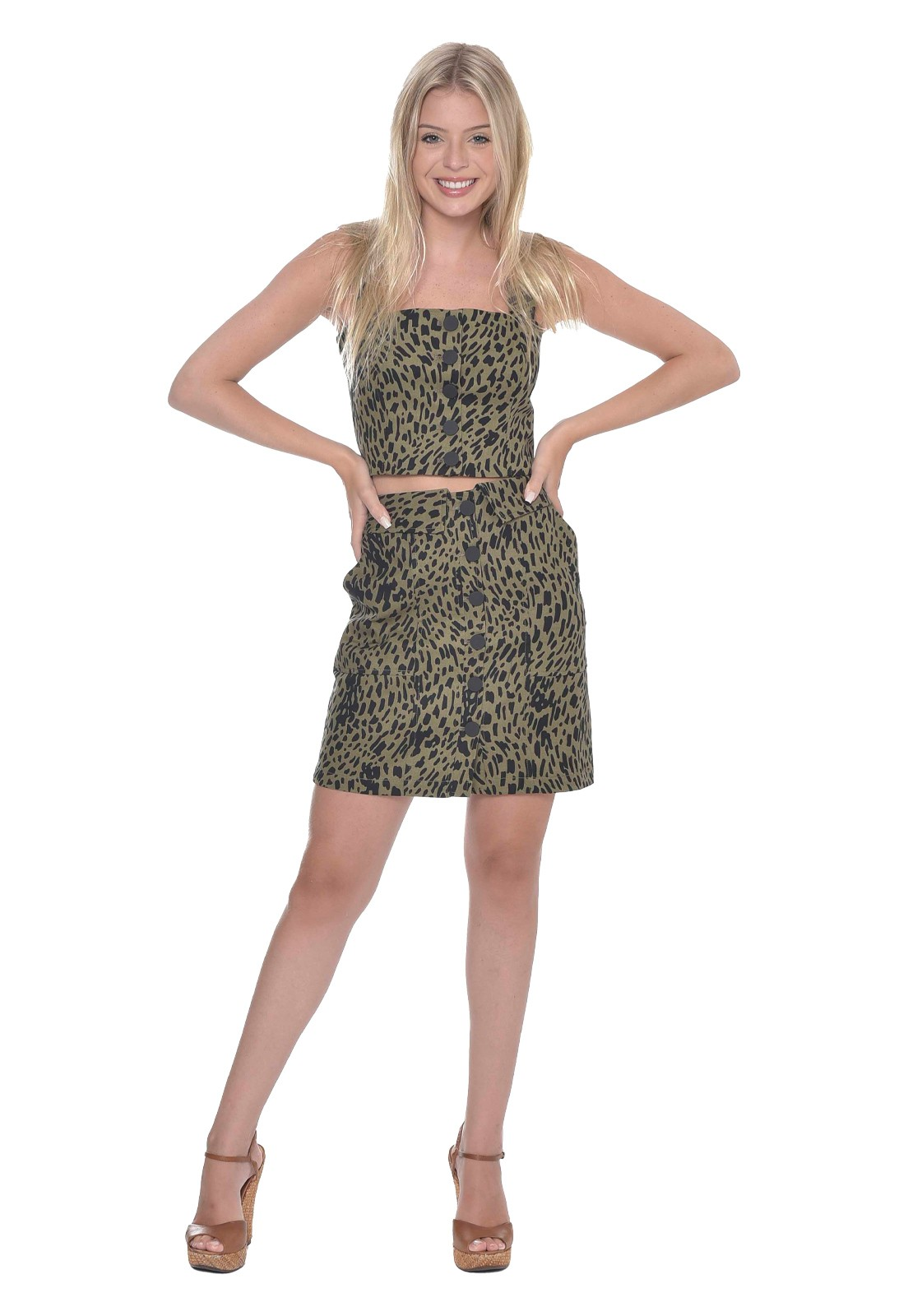 Saia Green Leopard