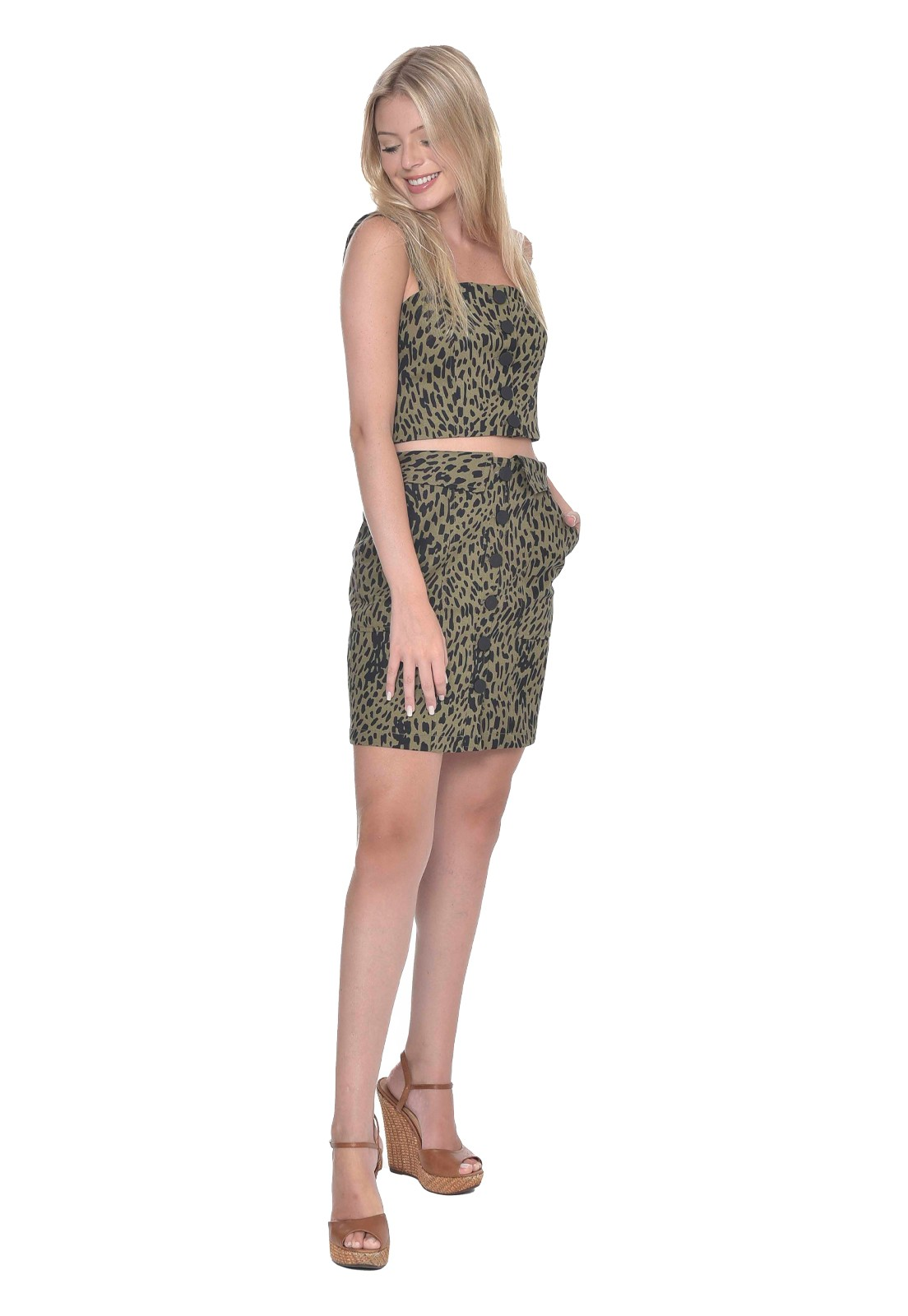 Top Green Leopard