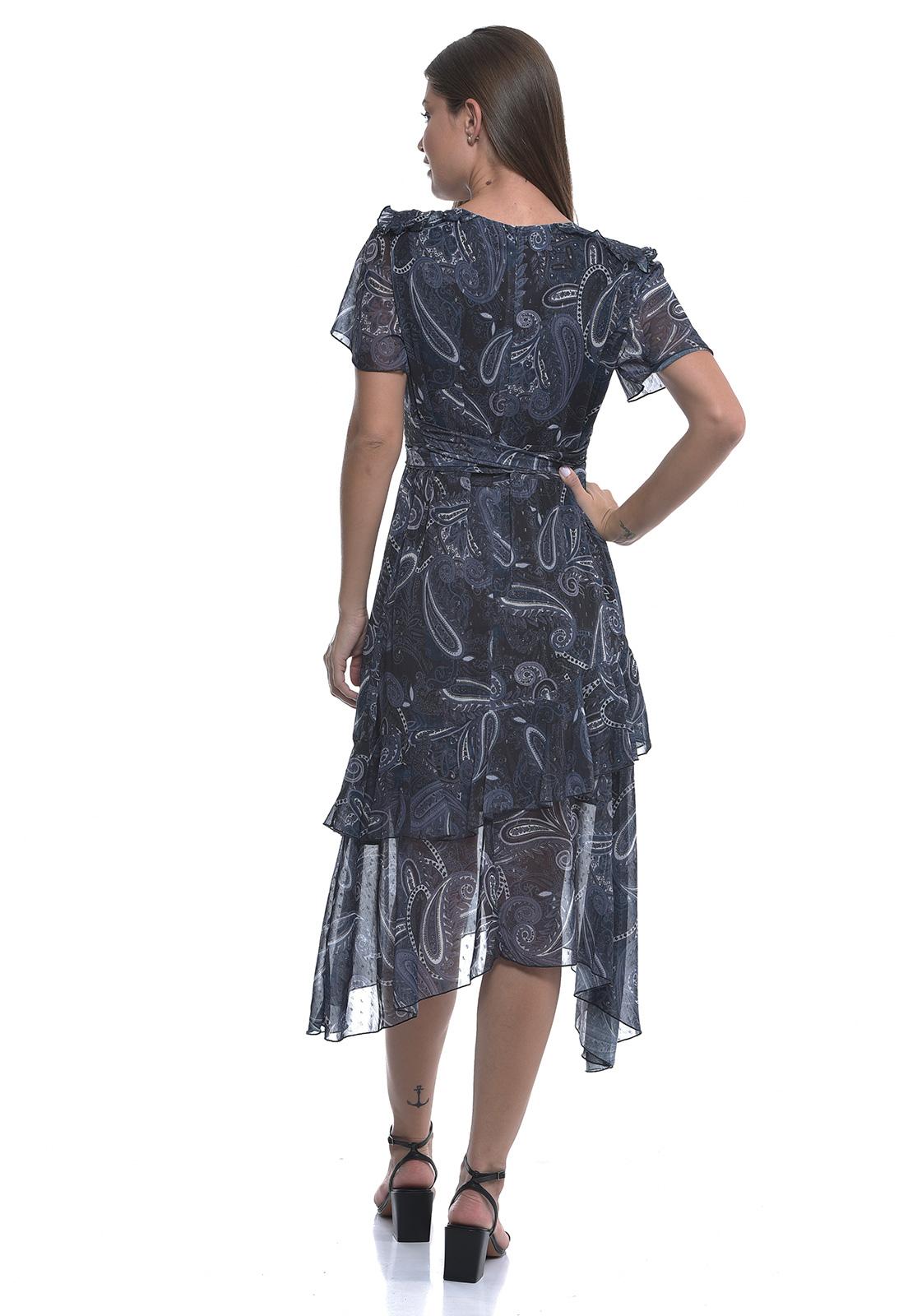 Vestido Caxemira