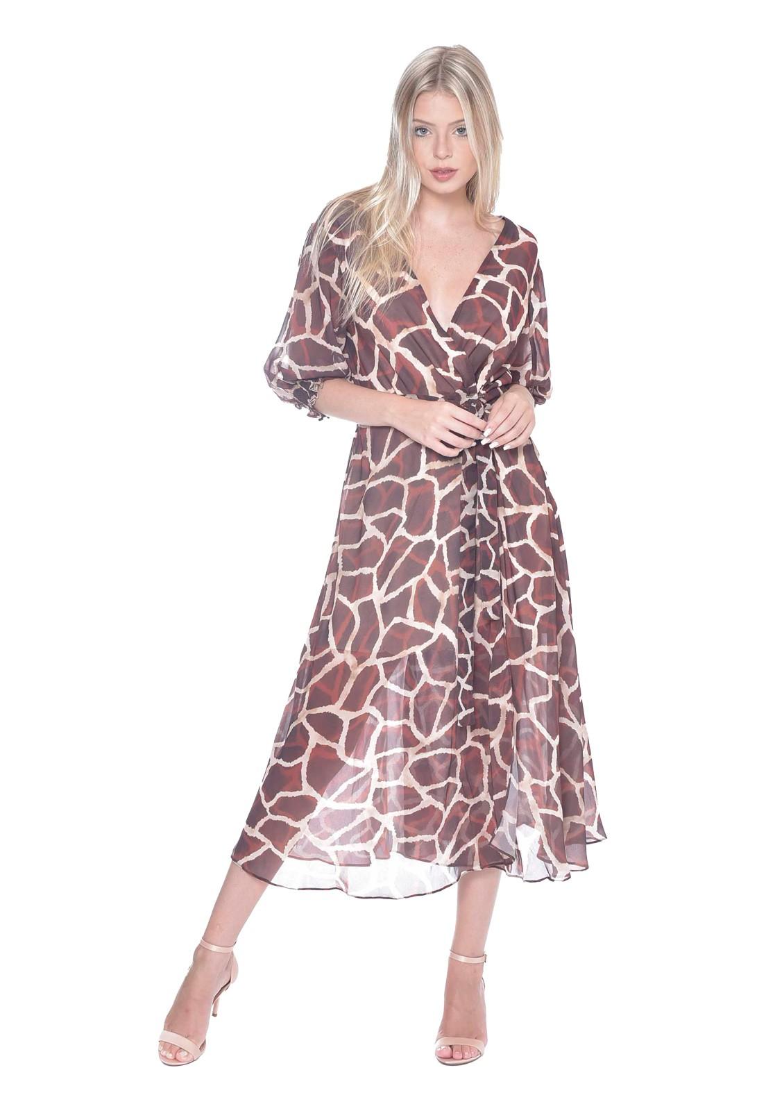 Vestido Girafe