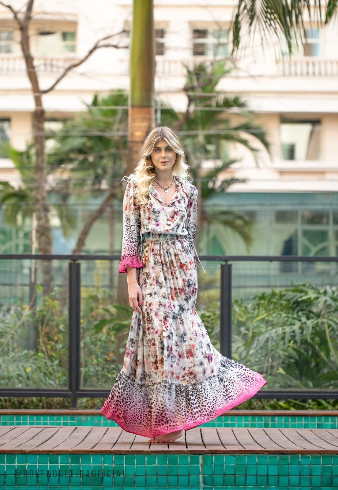Vestido Playa Rosa