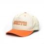 Boné Super Premium Dad Hat Jacto Since 1948 - Bege/Laranja