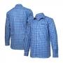 Camisa Jacto Work On Xadrez - Azul/Vermelho