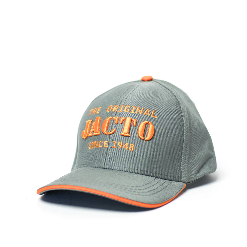 Boné Dad Hat Jacto Original - Cinza/Laranja