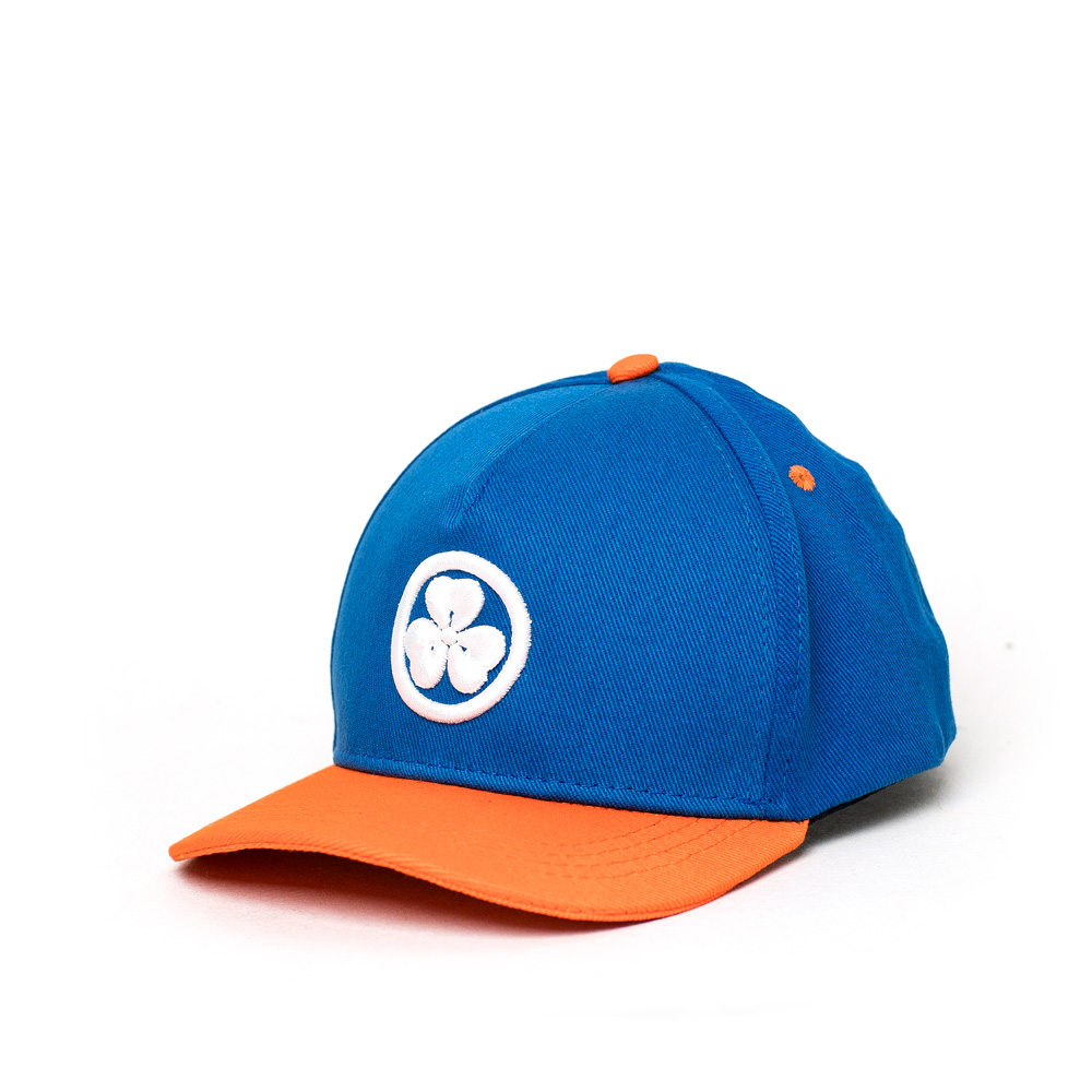Boné Dad Hat JactoKids Trevo Bordado - Azul Marinho