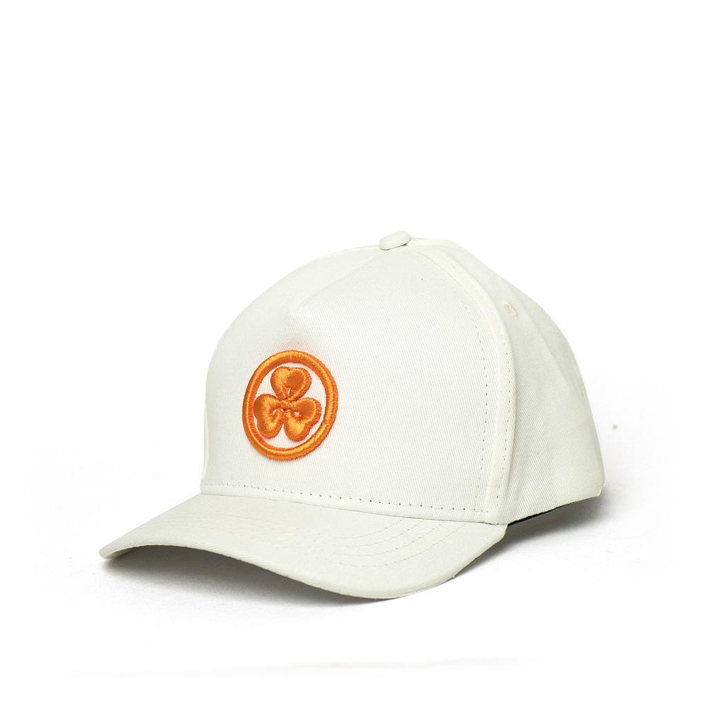 Boné Dad Hat JactoKids Trevo Bordado - Off White