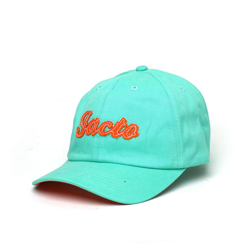 Boné Super Premium Dad Hat Jacto Lettering - Verde Água