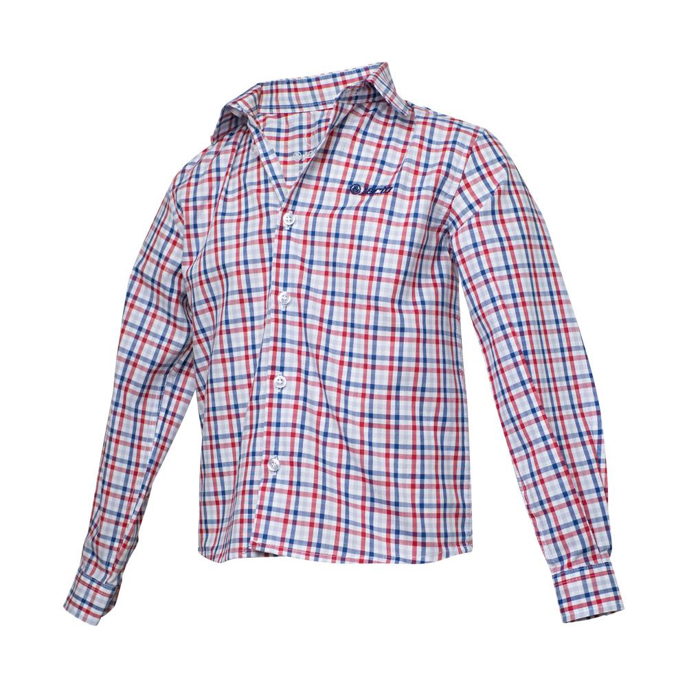 Camisa Inf. Jacto Sunny Day - Xadrez Vermelho / Azul