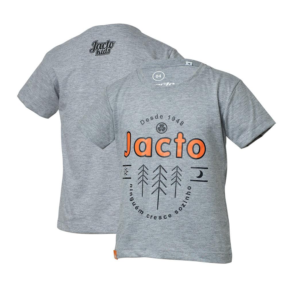 Camiseta Inf. Jacto Pinheiros - Cinza Mescla