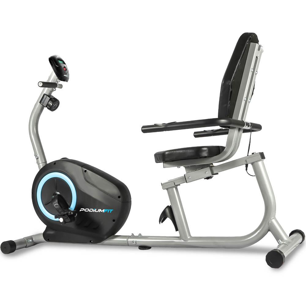 Bicicleta Ergométrica PodiumFit H200 - Magnética - 8cargas - Silenciosa
