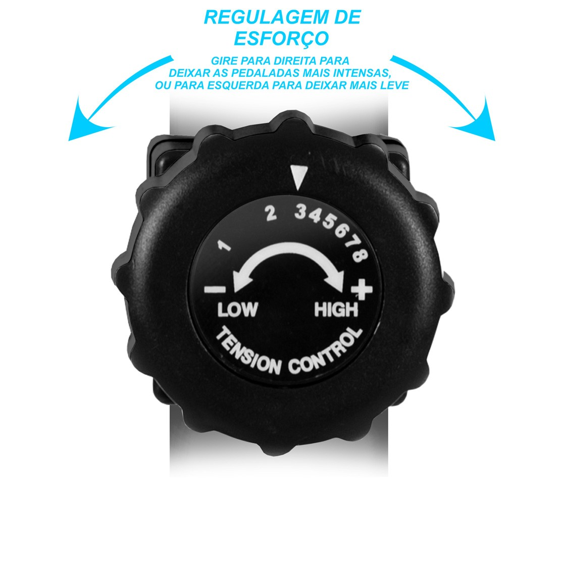 Elíptico Bike Podiumfit Eb100 Magnético 8cargas Max120kg